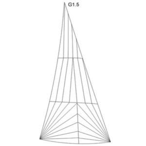 20m² Jollenkreuzer 16,4m² Genua 1.5 Produktbild
